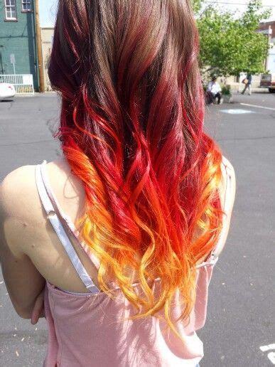ombre hair fire pesquisa google fire hair fire