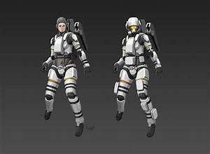 Civilian Space Suit CM81 by longgi on DeviantArt