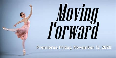 Moving Forward   City Ballet of San Diego