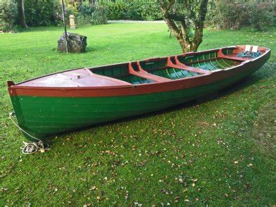 Commercial Fishing Boat Jobs Ireland by Larch Wooden Lake Fishing Boat For Sale In Lanesborough