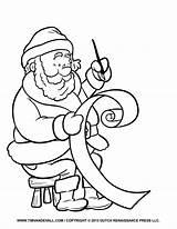 Coloring Santa Clip Letter Printable Template Claus Cartoon Entitlementtrap Sheets Holiday Timvandevall Coloringfolder Artykuł sketch template