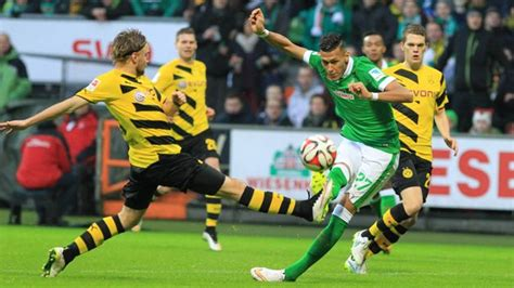 Head to head statistics and prediction, goals, past matches, actual form for 1. Bundesliga   SV Werder Bremen 2-1 Borussia Dortmund   Matchday 17   Match Report