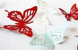 Schmetterlinge Aus Papier : 150 verbl ffende bastelideen aus papier ~ Lizthompson.info Haus und Dekorationen