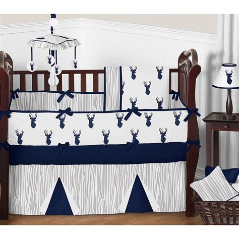 Shop for sweet jojo crib bedding at bed bath & beyond. Sweet Jojo Designs Woodland Deer 9 Piece Crib Bedding Set ...