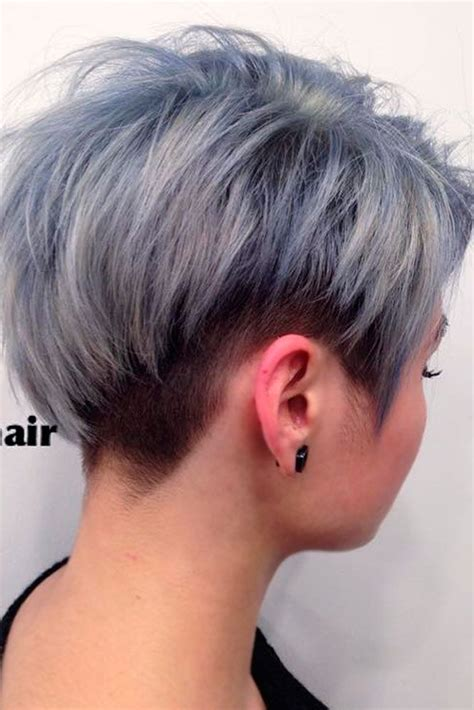 The grey hair trend has taken the internet by storm. Hair Color 2017/ 2018 - Short grey hair cuts for your ...