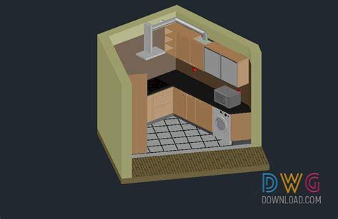Kitchen 3d Dwg Download. High Quality Kitchen 3d Dwg