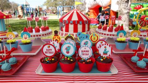 karas party ideas circus big top carnival themed party