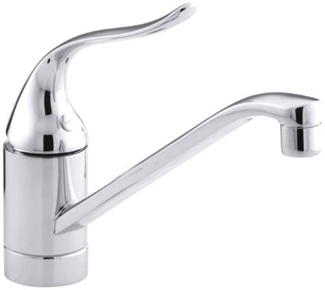 kohler coralais swing kitchen sink faucet with lever