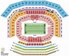 Levi's Stadium Seating Chart - Santa Clara