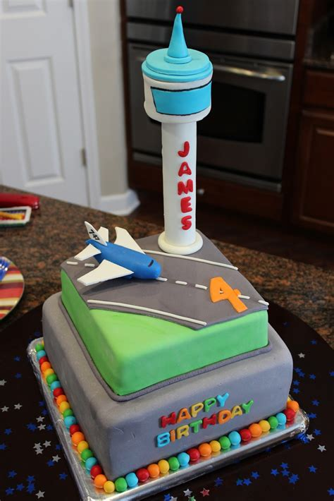 Cake Flair Airplaneairport Cake