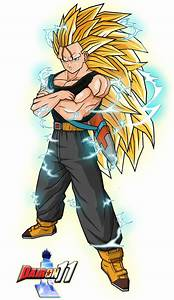 Trunks SSJ3 by Dairon11 on DeviantArt