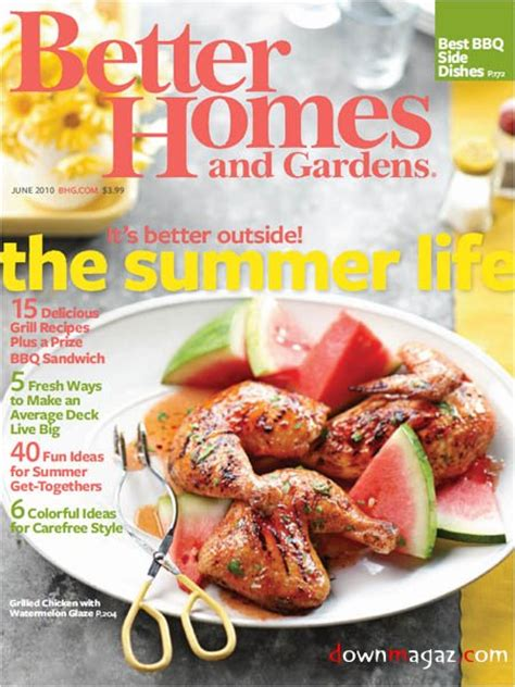 100 better homes and gardens magazine better homes