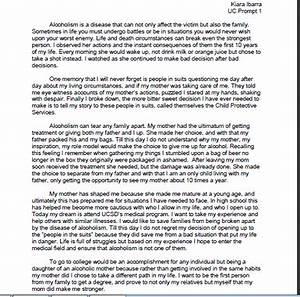 Uc Essay Prompt 2 On Tradition Sample Essays 2015