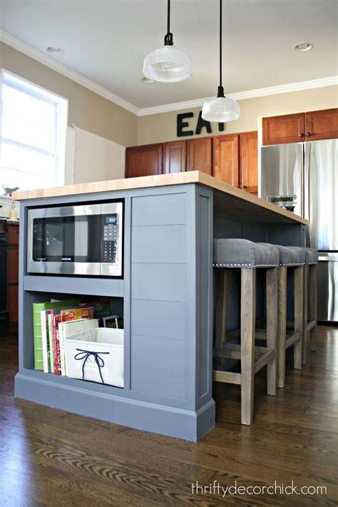 microwave   island finally   kitchen