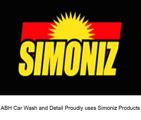abh car wash proudly  simoniz products abh
