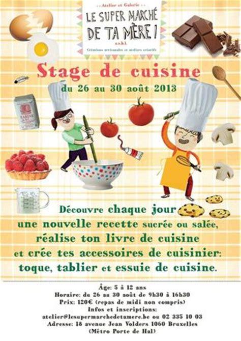stage de cuisine stage de cuisine pour les 5 à 12 ans du 26 au 30 août