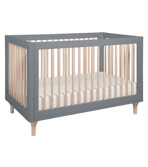 gray cribs on babyletto lolly 3 in 1 convertible crib with toddler bed 3917