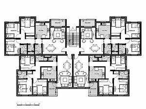 4 Storey Residential Building Floor Plan  U2013 Modern House