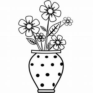 Free Drawing Of Flowers In A Vase - ClipArt Best