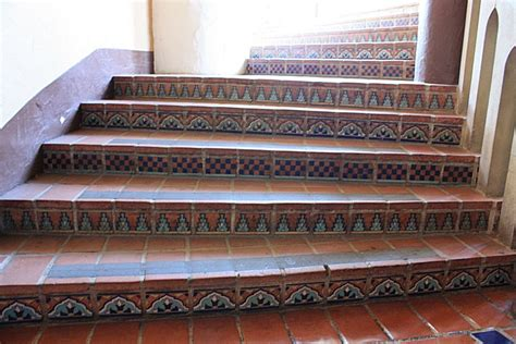mission tile and santa santa barbara mission tile used in raisers mexican home