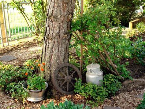 Garten Deko Baumstämme by Deko Upcycling Im Garten Mein Sch 246 Ner Garten