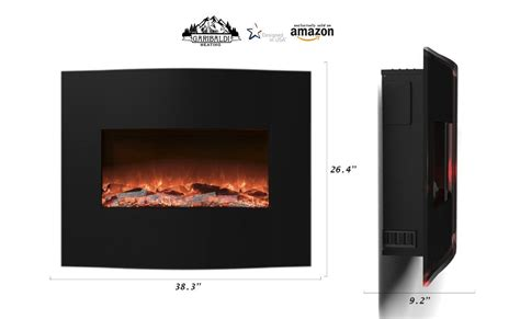 wall mount electric fireplace no heat the 10 best wall mount electric fireplace reviews 2017