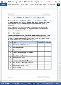 Marketing Plan Templates  5 X Word   10 Excel Spreadsheets
