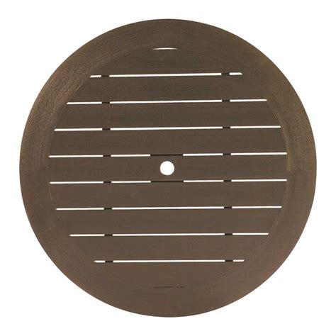30 round table top resysta 30 quot round table top hole