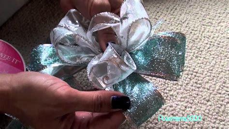 diy     decorative bow tutorial holiday
