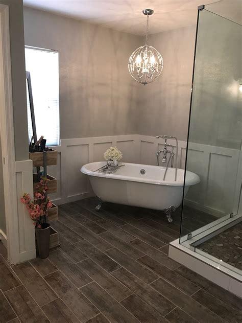 clawfoot tub master bathroom remodel bathtub