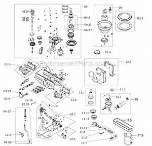 Breville Bes870xl Parts List And Diagram