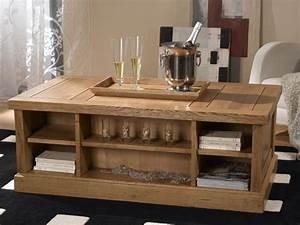 Table Basse Rustique : le rustique meubles jacques cartier ~ Teatrodelosmanantiales.com Idées de Décoration