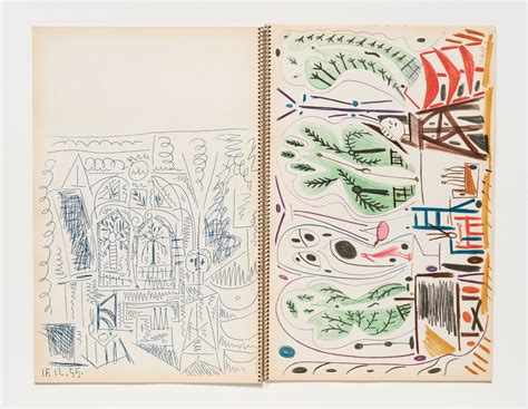 Picasso's Bright, Enticing Sketchbook