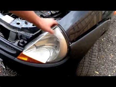 ford ka headlight removal youtube