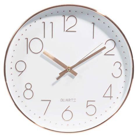 ma cuisine maison horloge d 31 cm swaggy copper maisons du monde