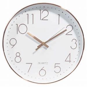 Horloge D 31 cm SWAGGY COPPER Maisons du Monde