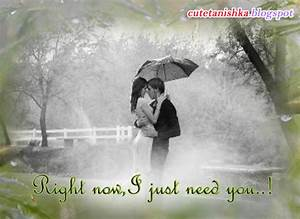 Love Couple in Rain Quotes images