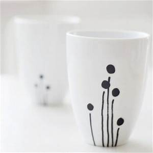 Tasse Selbst Bemalen : tassen porzellan bemalen moderne tassen selbst gestalten ~ Watch28wear.com Haus und Dekorationen