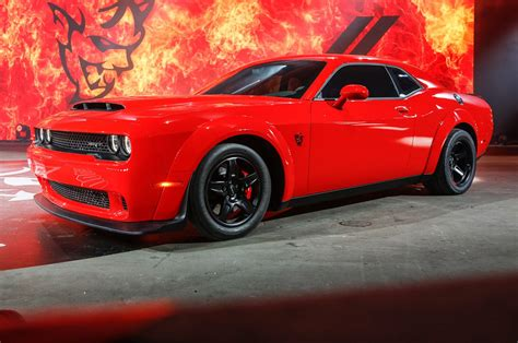dodge unveiled   claims   fastest muscle car