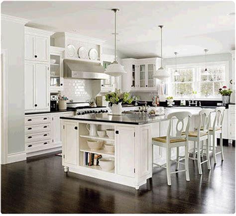 inspirations glamorous white kitchens