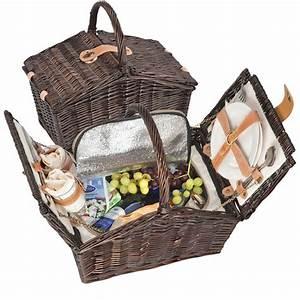 Schlafsofa Für 2 Personen : picknickkorb aus weidengeflecht f r 2 personen mit k hltasche sch ner korb ebay ~ Indierocktalk.com Haus und Dekorationen