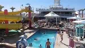 Pools  Deck 12  Norwegian Jade  Norwegian Cruise Line