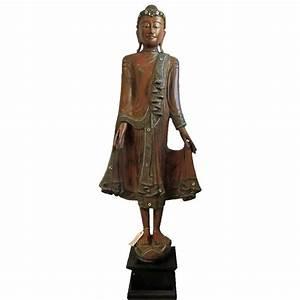 Buddha Figur 150 Cm : buddha figur mandalay 150 cm holz bearbeitet hergestellt ~ A.2002-acura-tl-radio.info Haus und Dekorationen