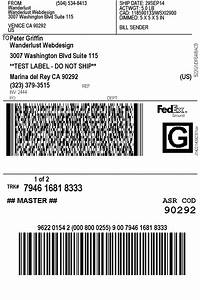 print fedex shipping labels woocommerce plugin With express shipping label