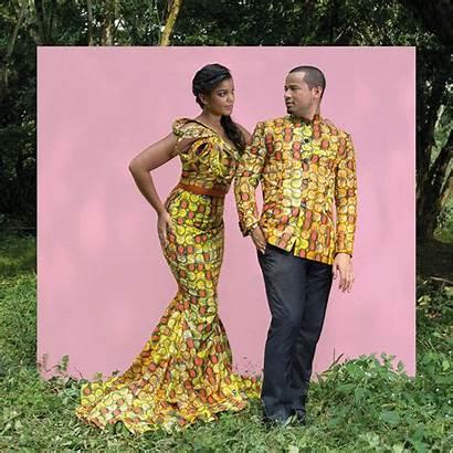 Mariage Rdc Vlisco Tenue Traditionnel Congolais Coutumier
