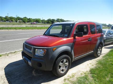 Purchase Used 2003 Honda Element Ex Awd And Automatic