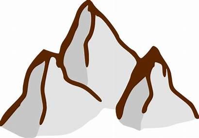 Map Symbols Mountains Clip Clipart Svg Clker