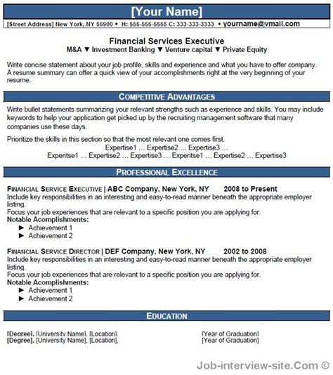 Finance Resume Format 2015 by Resume Format For Financial Executive Thesis Writers Resume Sle Retail Assistant Manager