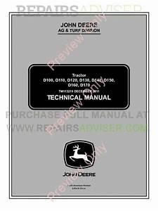 John Deere D100  D110  D120  D130  D140  D150  D160  D170