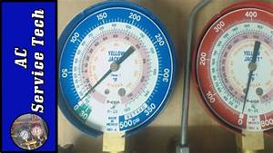 R22 And R410a Refrigerant Operating Pressures On Air Conditioning Units